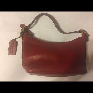 Genuine Coach leather bag